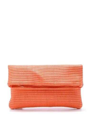 Derimod Clutch / El Çantası Oranj